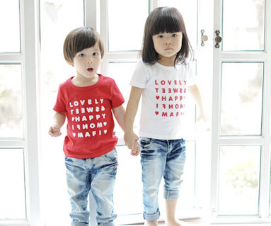 Happy Party round baby short T-shirts_13B07