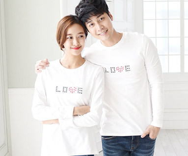 Stitch Round Couples long sleeve_15C06