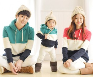 "Brushed birdie birdie hoody family long sleeve_15D20 <font color=""#FF6666""><strong>[order possible]</strong></font>"