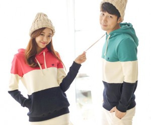 Brushed birdie bird hoody Couples long sleeve_15D20