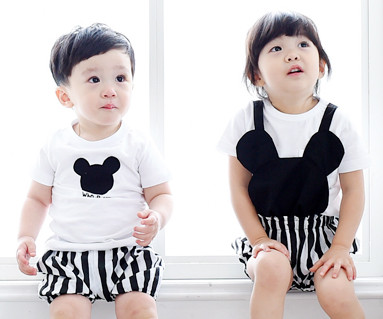 Mini family baby short T-shirts_15B28
