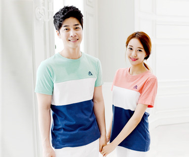 Trinity round Couples short T-shirts_15B04