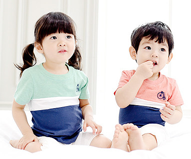 Trinity round baby short T-shirts_15B04