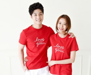Flying round Couples short T-shirts_15B20