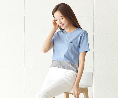 Daily Round Women's short T-shirts_16B20