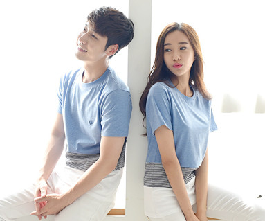 Daily round Couples short T-shirts_16B20
