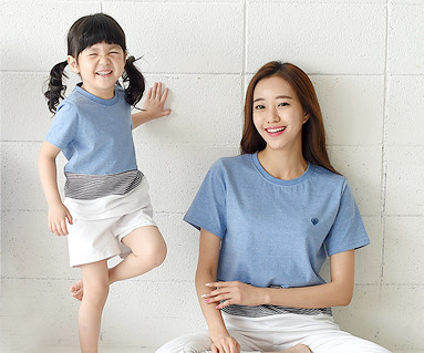 Daily Round Mom and baby short T-shirts_16B20