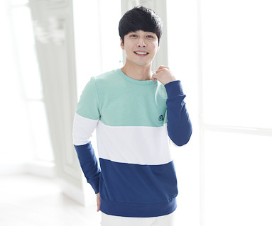 Trinity Man to man Male long sleeve_15A01
