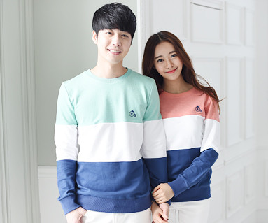 Trinity Man to man Couples long sleeve_15A01