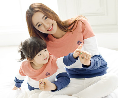 Trinity Man to man Mother and baby long sleeve_15A01