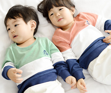 Trinity Man to man baby long sleeve_15A01