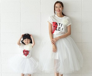 Couple Heart Mother and Baby short T-shirts_16B21