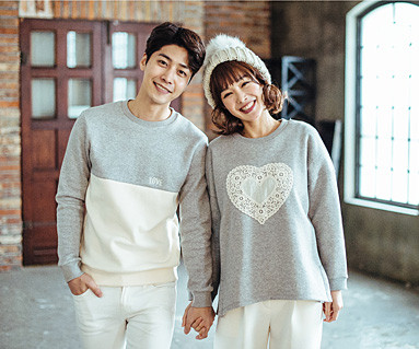 Brushed Cotton Family Couples long sleeve_16D04