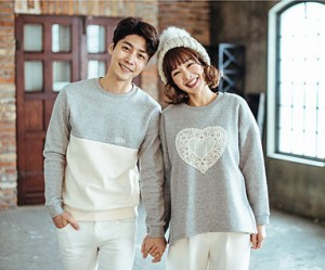 "Brushed Cotton Family Couples long sleeve_16D04 <font color=""#FF6666""><strong>[Order available]</strong></font>"