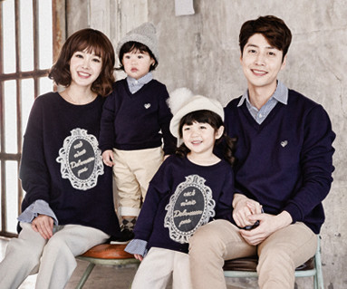 Brushed Royal Dandy family long sleeve_16D03