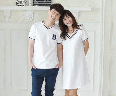 Summer School Couples short T-shirts_16B11