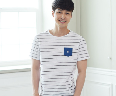 Eye Blue Men's short T-shirts_16B05