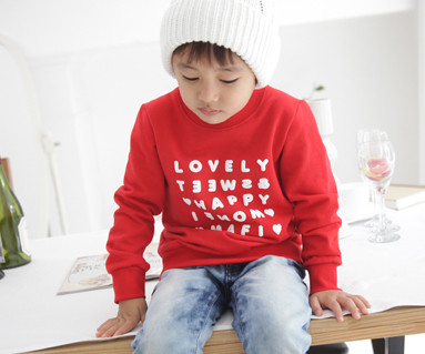 Happy Party Man to man baby long sleeve_12D03