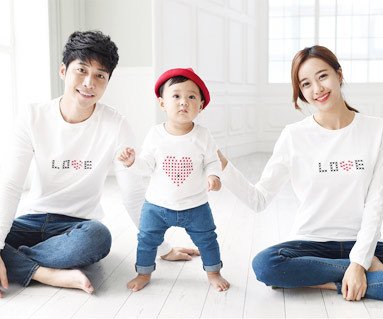 Stitch round family long sleeve_15C06
