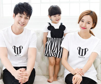 Mini family short T-shirts_15B28