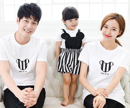 Mini family short T-shirts_15B28
