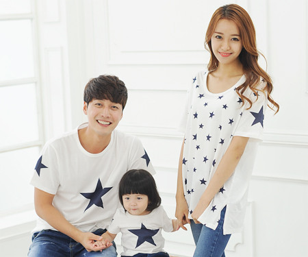 "All Star round family short T-shirts_14B39 <font color=""#FF6666""><strong>[Order available]</strong></font>"