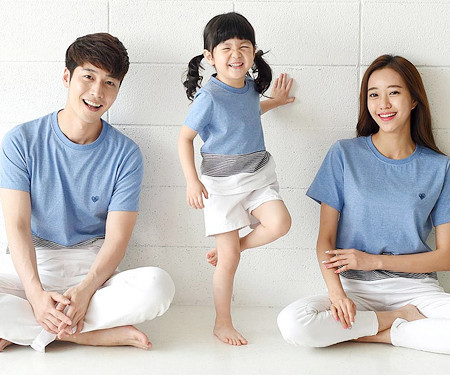 Daily Round family short T-shirts_16B20