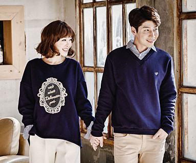 Brushed Royal Dandy Couples long sleeve_16D03
