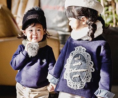 Brushed Royal Dandy Baby long sleeve_16D03