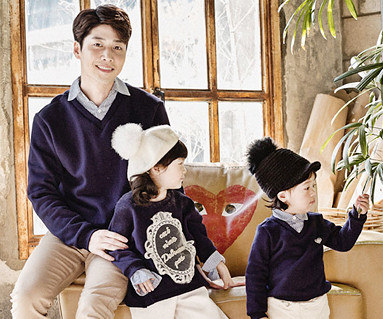 "Brushed Royal Dandy Daddy and baby long sleeve_16D03 <font color=""#FF6666""><strong>[Order available]</strong></font>"