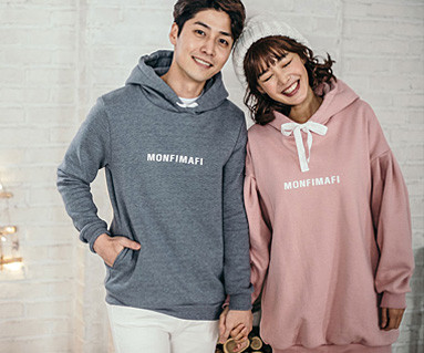 Brushed Montpemphihood Couples long sleeve_16D10