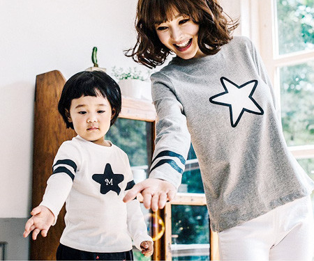 Star line family long sleeve_16C13
