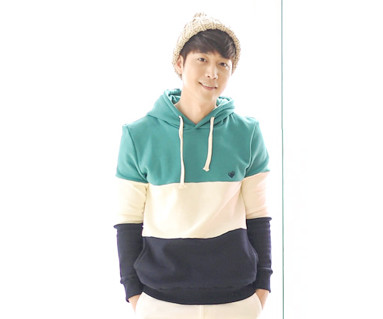 Brushed birdie birdie hoody male long sleeve_15D20