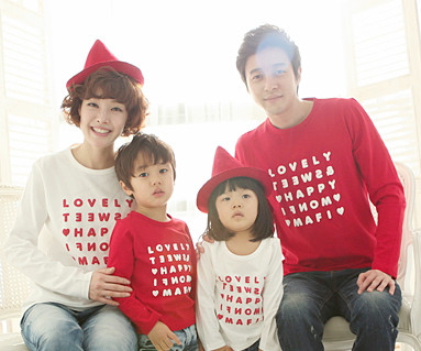 Happy Party round family long sleeve_13A01