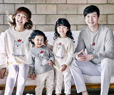 Bear King family long sleeve_17A01