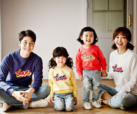 Love bukeul family long sleeve_17A07