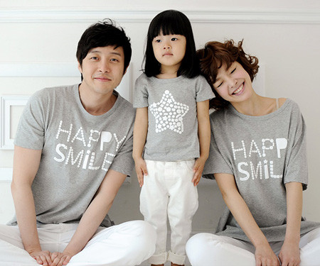 Milky Way round family short T-shirts_13B27