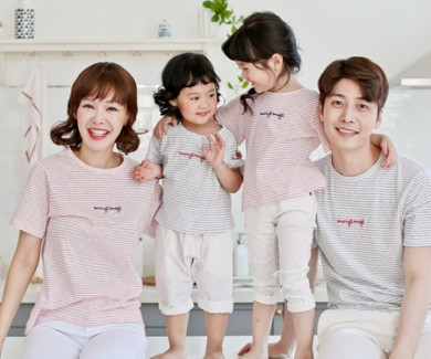 Sweet Candy family short T-shirts_17B07