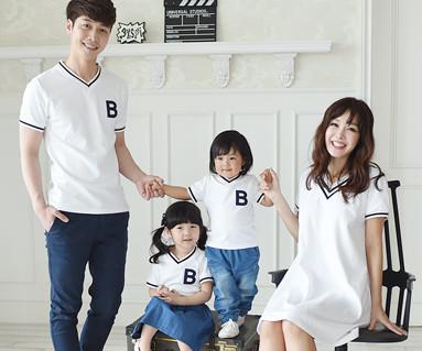 Summer School family short T-shirts_16B11