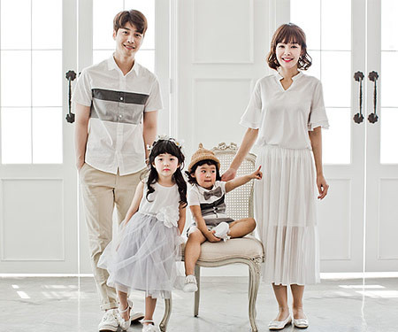 "<font color=""ffffff"">[Family T & family look] <br></font> Mild family short T-shirts_17B13"