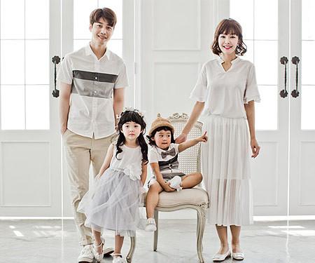 [Family T & family look] Mild family short T-shirts_17B13