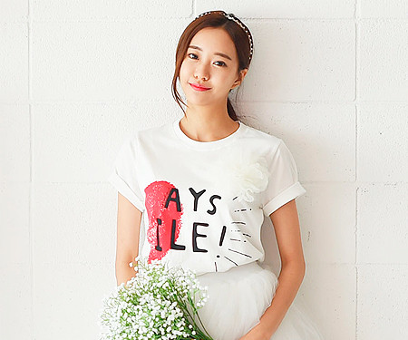 "Couple Heart Women short T-shirts_16B21<font color=""#FF6666""><strong>[Order available]</strong></font>"