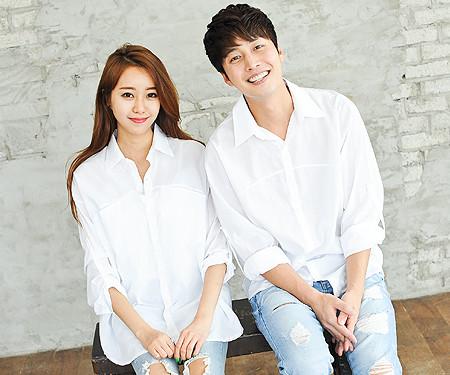 Hidden Pocket Shirt Couples long sleeve_14B23