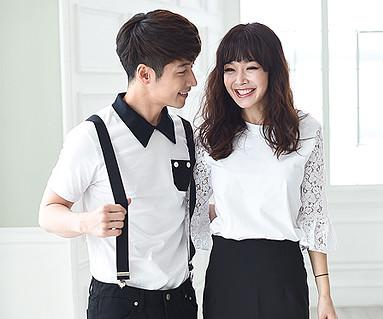 Modern Romance Couples short T-shirts_16B10