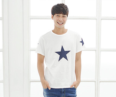 All Star round male short T-shirts_14B39
