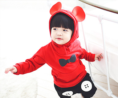 Mini mouse family baby long sleeve_14C08