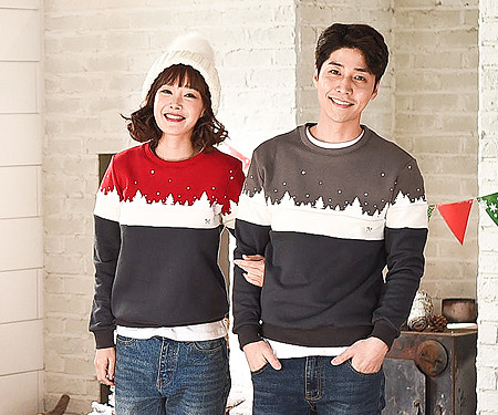 Brushed Winter Kingdom One-man Couples long sleeve_16D11