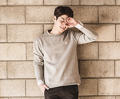 Brushed Coir Shirting men long sleeve_16D16