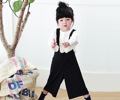 Bebe suspenders pants baby _16C07