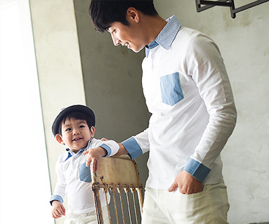 Windy family dad and baby long sleeve_15A06